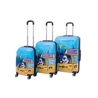 Ed Heck Riley 3-piece Hardside Spinner Luggage Set