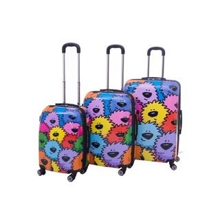 Ed Heck Sebastian 3-piece Hardside Spinner Luggage Set
