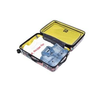 Body Glove Tartan 3-piece Hardside Spinner Luggage Set