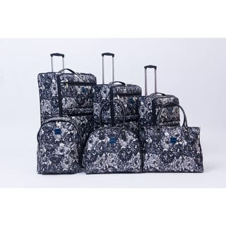 Isaac Mizrahi Boldon 6-piece Spinner Luggage Set|https://ak1.ostkcdn.com/images/products/18064034/P24226769.jpg?impolicy=medium