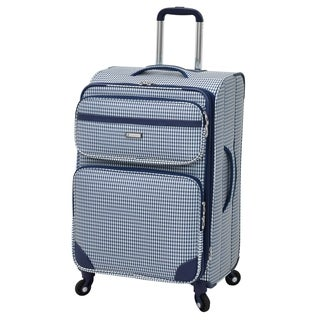 London Fog Hampton 24-inch Expandable Spinner Upright Suitcase