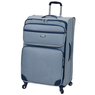 London Fog Hampton 28-inch Expandable Spinner Upright Suitcase
