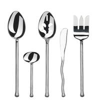 Gourmet Settings Exotique Platinum 5-piece Hostess Set
