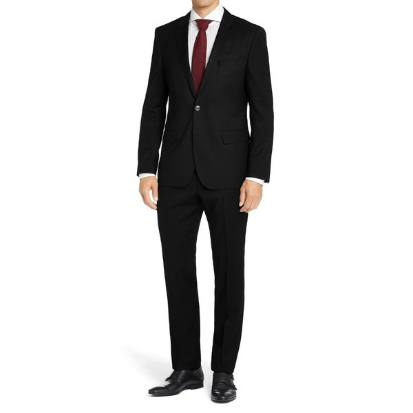 MDRN Uomo Men's Classic Fit 2 Piece Suit