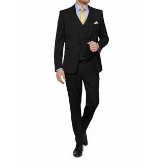 MDRN Uomo Men's Slim Fit 3 Piece Suits