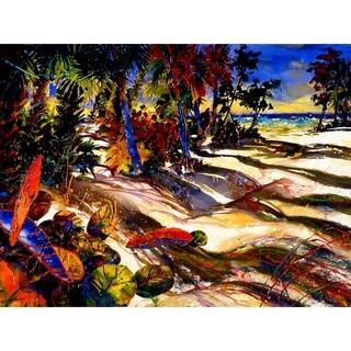 """Calusas Retreat"" by Jim Gerard Holehouse, Canvas Giclee Wall Art"
