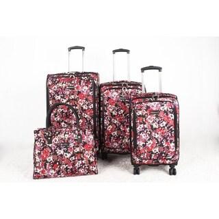 Isaac Mizrahi Cascadia 4-piece Spinner Luggage Set
