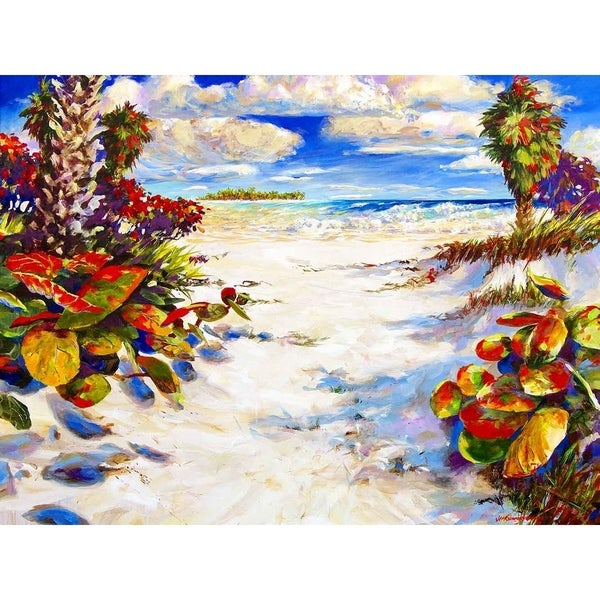 """Bahamian Nor'easter"" by Jim Gerard Holehouse, Canvas Giclee Wall Art"