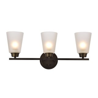 Biff Collection Wall Sconce D22 H9.3 Lt:3 Oil rubbed bronze Finish