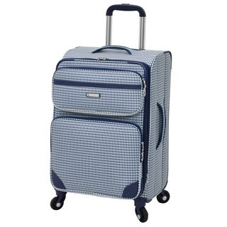 London Fog Hampton 20-inch Expandable Spinner Carry On Upright Suitcase