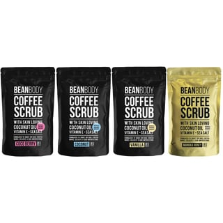 Mr. Bean Body 220-gram Coffe Bean Exfoliating Body Skin Scrub