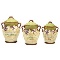 Certified International 3 pc Vino Canister Set