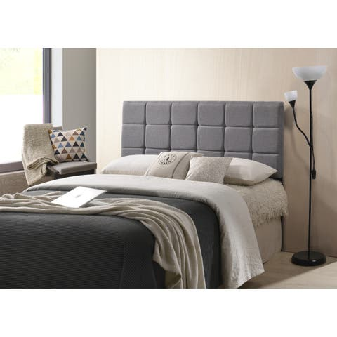 Poly and Bark Rochelle Panel-Tufted Headboard, Queen Size
