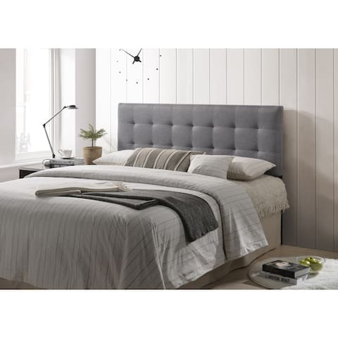 Poly and Bark Guilia Square-Stitched Headboard, Queen Size