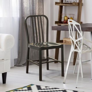 Furniture of America Wiz Modern Finished Steel Side Chairs (Set of 2)