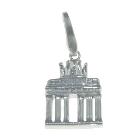 Isla Simone Sterling Silver Berlin Brandenburg Gate Charm