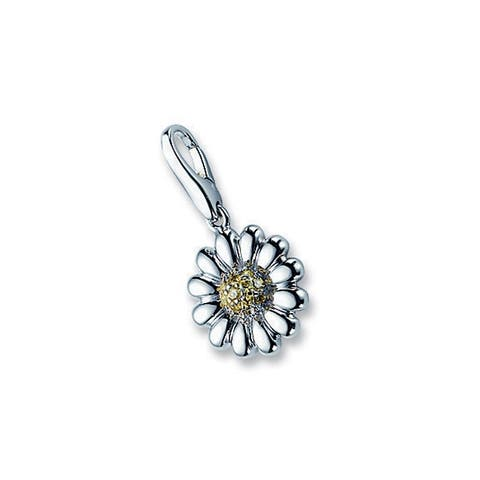 Isla Simone Sterling Silver Sunflower