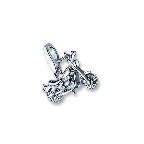 Isla Simone Sterling Silver Motorcycle