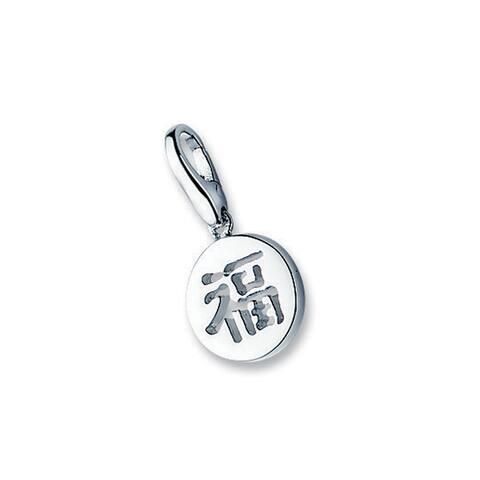 "Isla Simone Sterling Silver Symbol ""Protection"" Charm"