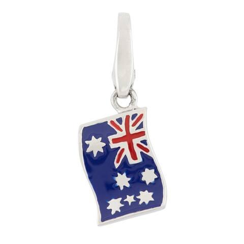 Isla Simone Sterling Silver Flag Of Australia
