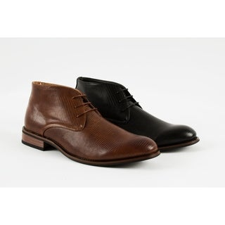 UV Signature Men's Dress Boot Chukkas