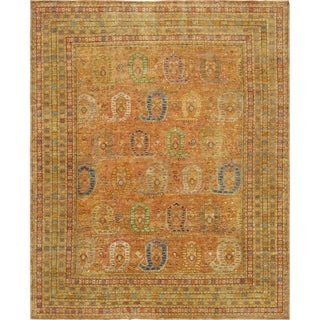"""Pasargad Sultanabad Collection Hand-Knotted Wool Rug (11' 6"""" X 14' 6"""")"""