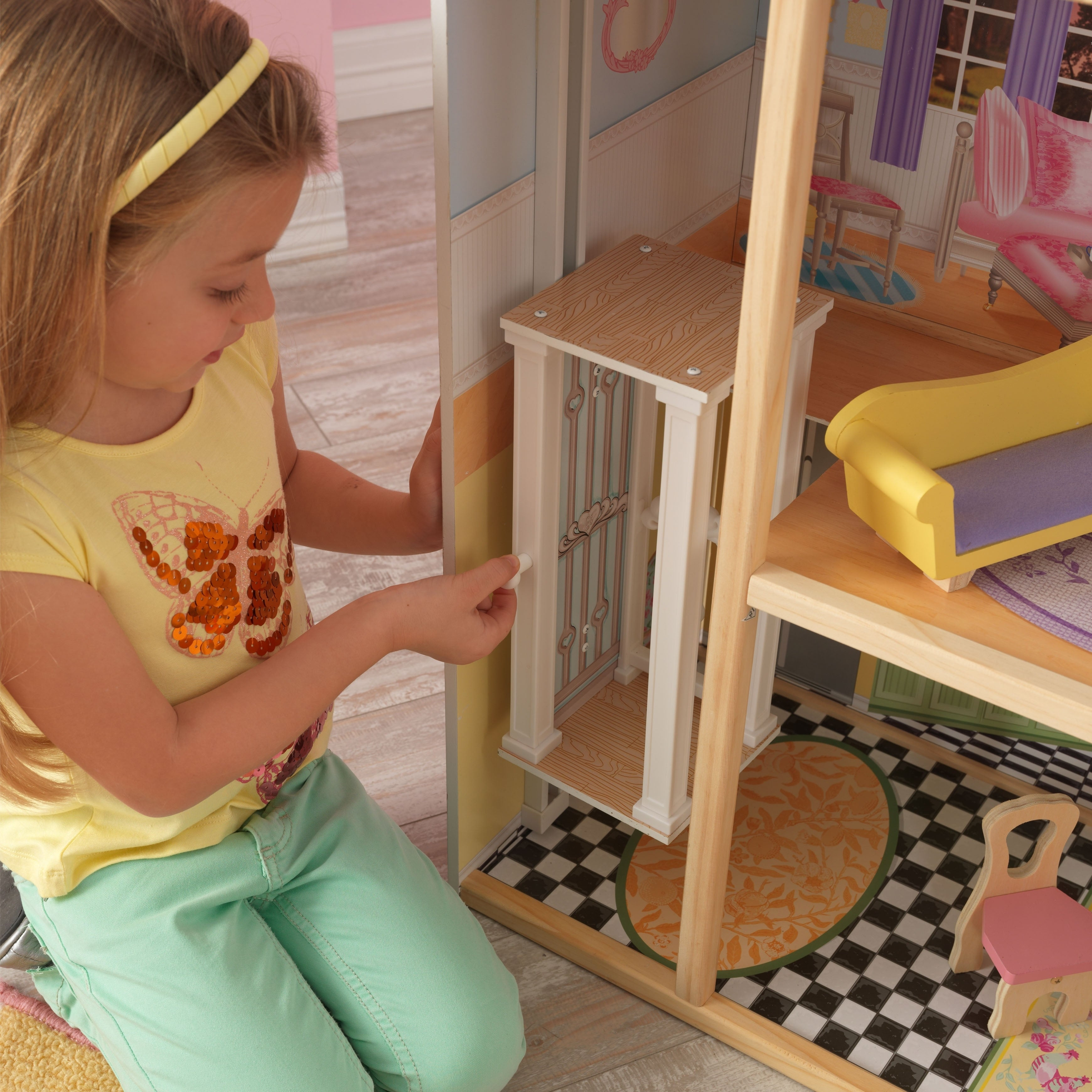 Kid Kraft Kaylee Dollhouse (Victorian - Assembly Required)