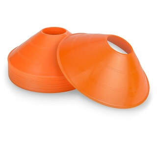 GoSports Sports Training Cone 20 Pack with Tote Bag