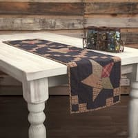 Arlington Patchwork Star Quilted Runner