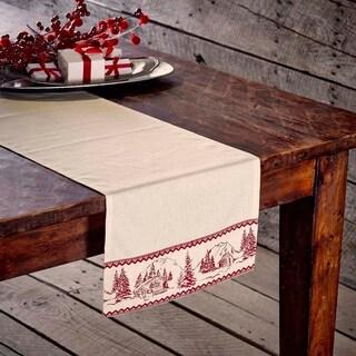Cabin Christmas Runner