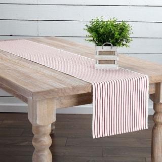 Farmhouse Tabletop Kitchen VHC Audrey Runner Cotton Striped