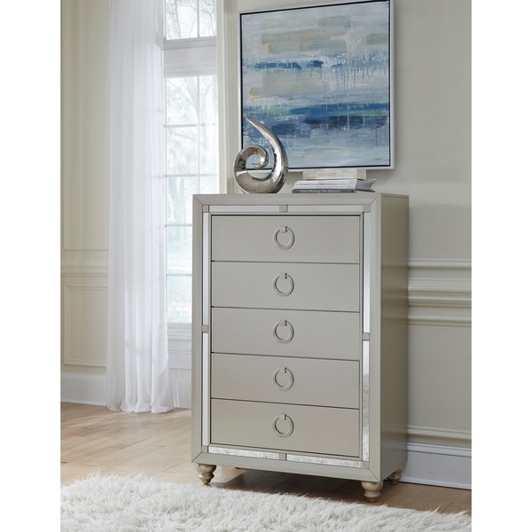 Awesome Global Furniture Riley Silver Chest