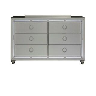Global Furniture Riley Silver Dresser