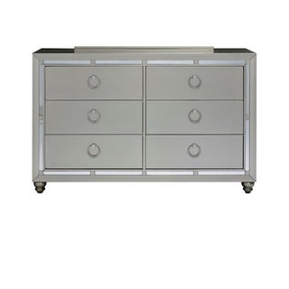 Silver Orchid Prince Silver Dresser