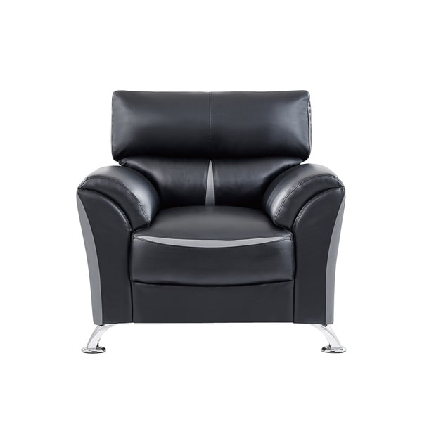 Global Furniture Black and Grey Chair