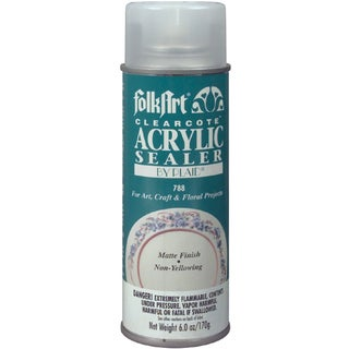 FolkArt Clearcote Acrylic Sealer Aerosol Spray 6oz
