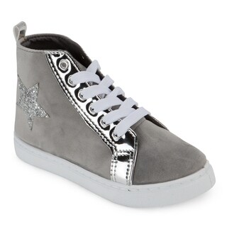Olivia Miller Elle High-top Sneaker (Option: Blue)