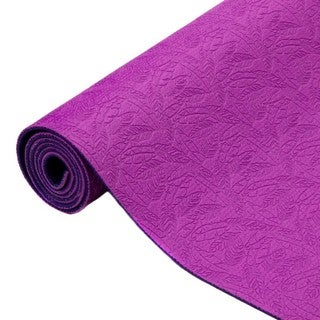 Oak and Reed Yoga and Exercise 5mm Textured Reversible Yoga Mat