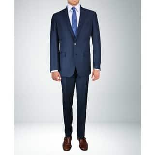 Carlo Studio Mid-Night Blue Pinstripe Suit|https://ak1.ostkcdn.com/images/products/18065901/P24228395.jpg?impolicy=medium