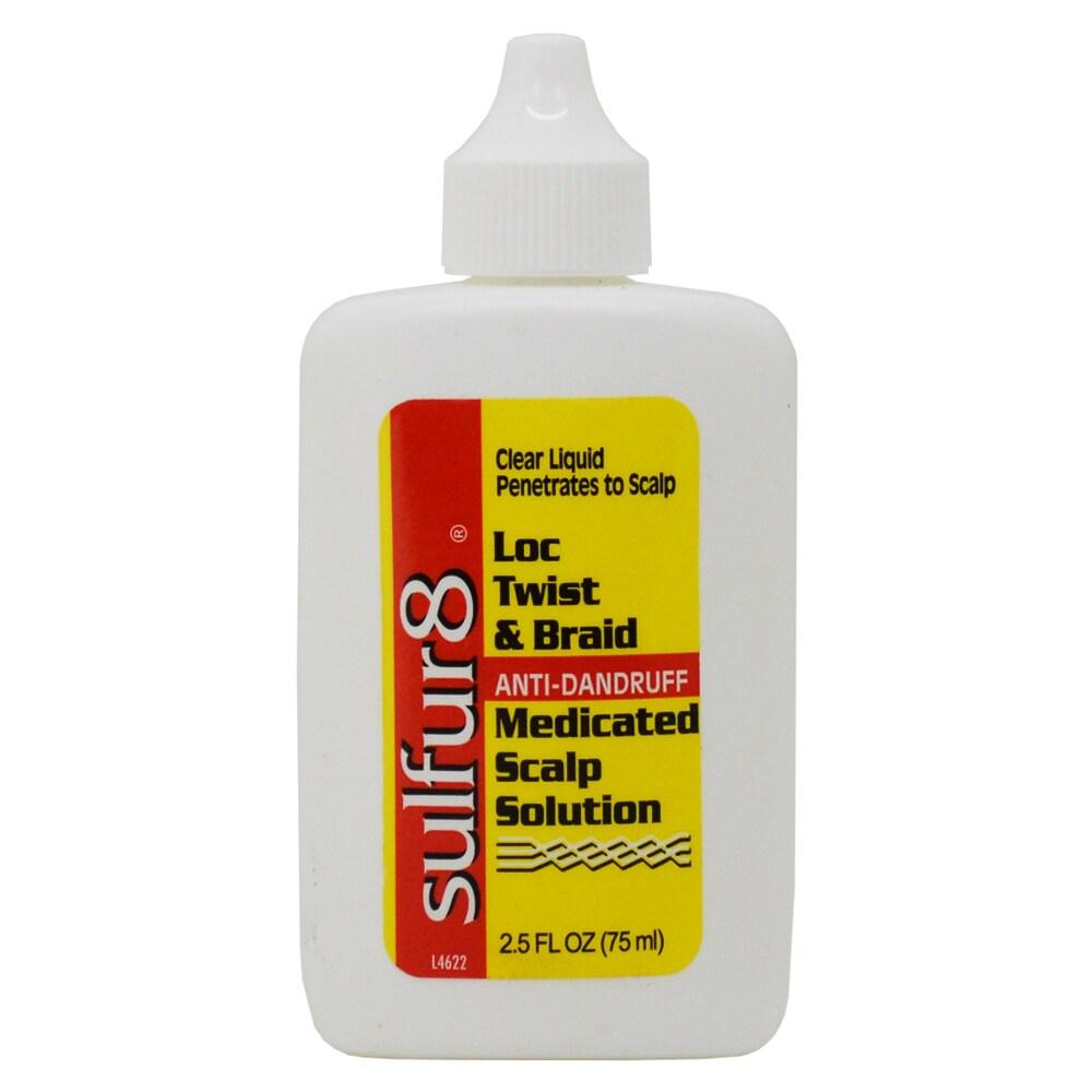 Sulfur8 Loc Twist & Braid 2.5-ounce Scalp Solution (2.5oz...