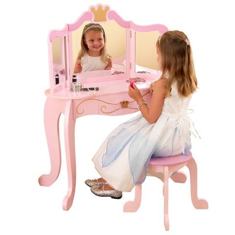 KidKraft Princess Vanity & Stool