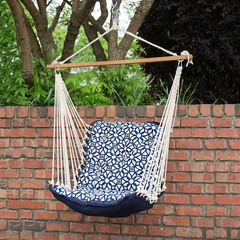 Tufted Single Swing - Luxe Indigo - N/A
