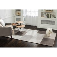 Jani Ryan Brown Wool Blend Rug - 9' x 12'