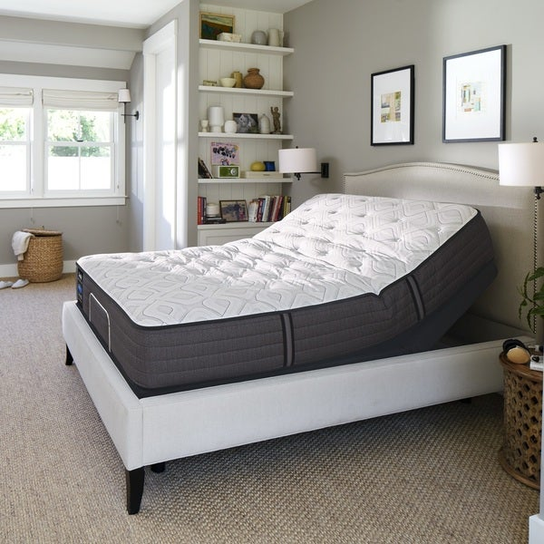 Shop Sealy Response Performance Cushion Firm Tight Top Split Ease Adjustable Base King Mattress