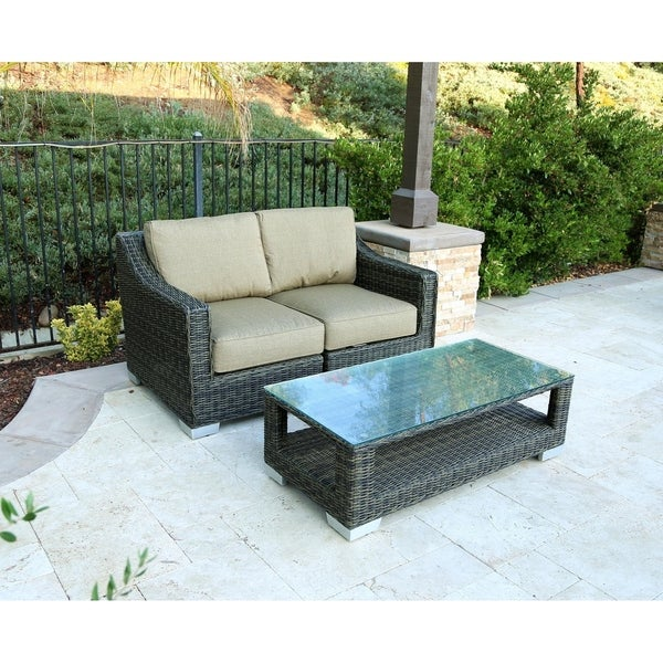 Newport 3 Piece Deep Seating Group with Cushion