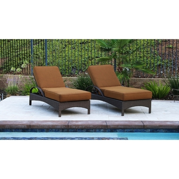 Catalina 2 Piece Chaise Lounge Group with Cushion