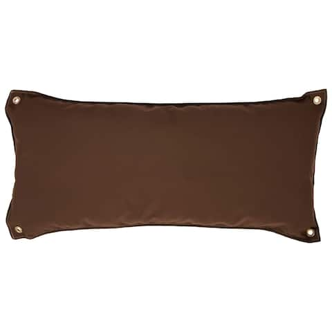 Traditional Hammock Pillow - Canvas Cocoa