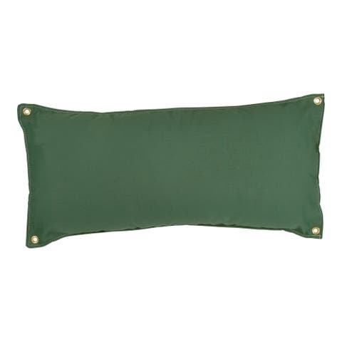 Traditional Hammock Pillow - Green