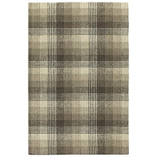 Bombay Home Hand-tufted Snook Brown Wool Area Rug (3'6 x 5'6)