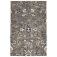 Hand-Tufted Ashton Lilac Wool Rug - 4' x 6'